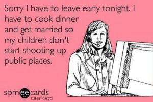 dinner early