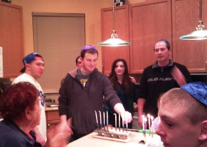 Sam Hanukkah party 2012