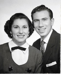 Mom + Dad engagement photo 1952