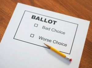 vote ballot choice