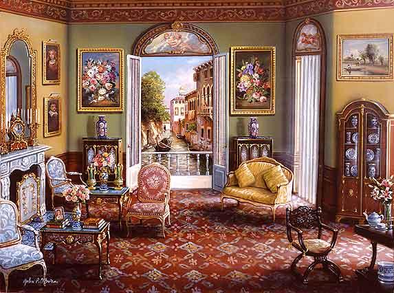 Houses In Art John Patrick O Brien Realtormarina