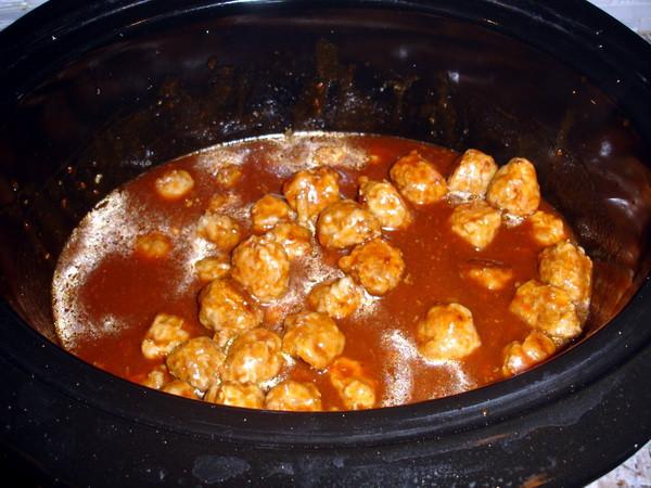 Meatballs coking