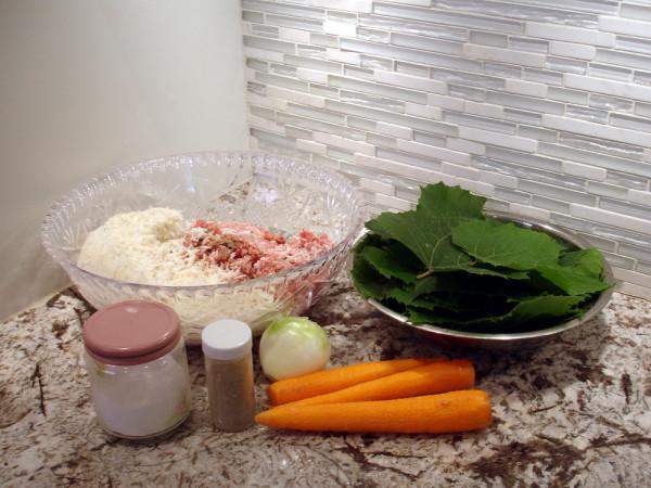 Dolma Ingredients