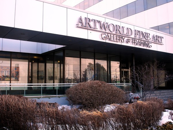 Entrance Artworld Fine Art