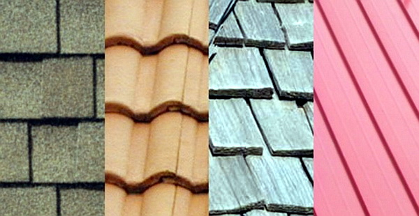 Learning real estate terms roofing material types for Types of shingles for roofing