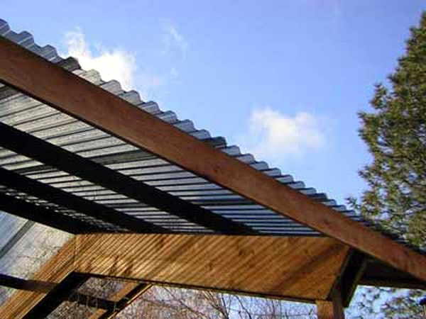 Corrugated Plastic Roof