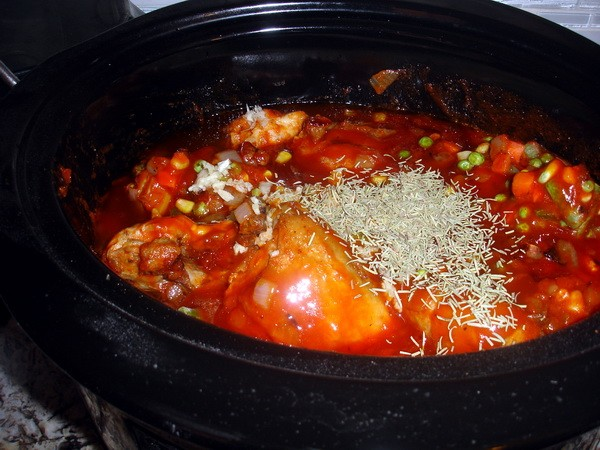 In the slow cooker