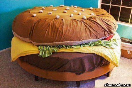 burger bed - Creative Home Designs