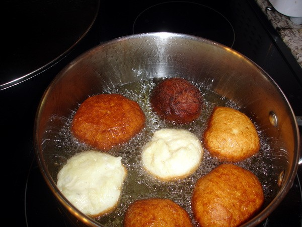 Ponchiki - cooking 2