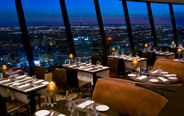 Unusual Houses of The World CN Tower Restaurant