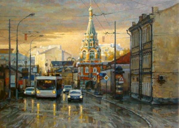 Moscow on Bolshaya Polyanka street