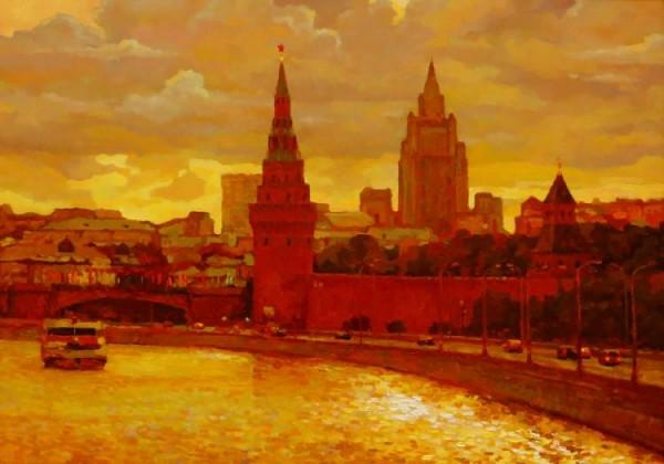 Moscow, Kremlevskaya Embankment