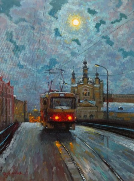 Sergey Volkov-Houses in Art