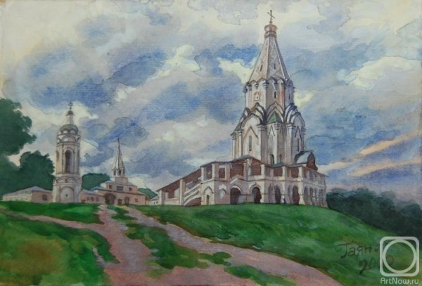 Dobrovolskaya Gayane - churches in art