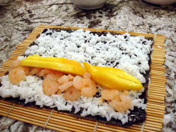 Shrimp and Mango