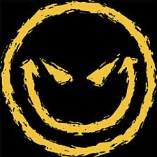 evil smiley face