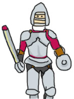 Me in armor