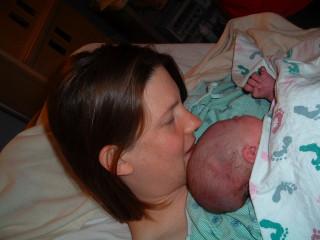 Very newborn Iris