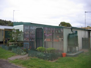 Cutest home in the caravan park