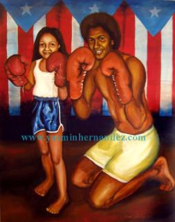 Yasmin Hernandez with Big Brother Joseph Hernandez