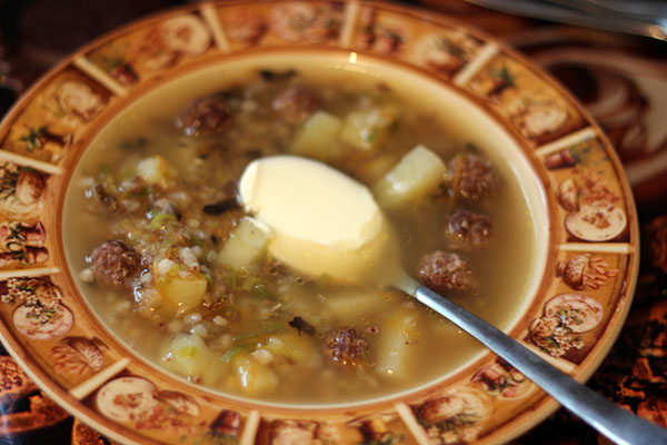 греч суп