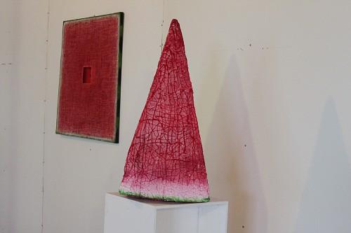 Сергей Баранов. Красный обелиск. 2012