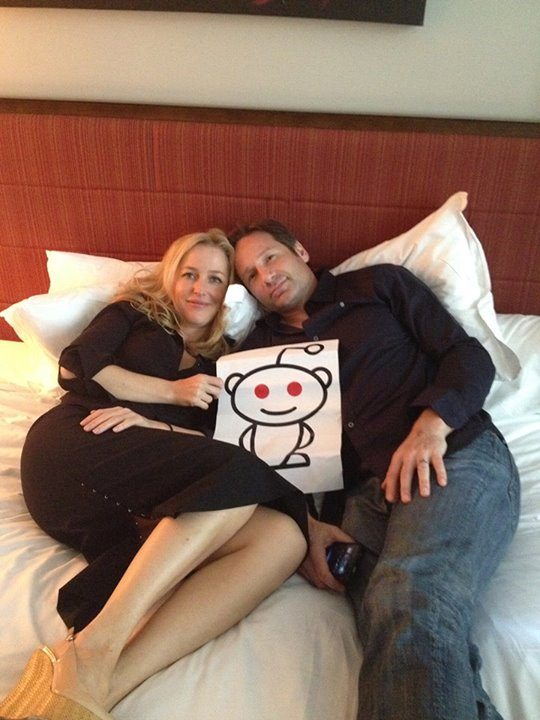 gillian anderson on her relationship with david duchovny californication