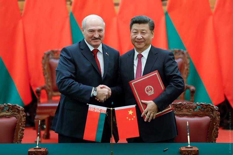 Александр Лукашенко и товарищ Си
