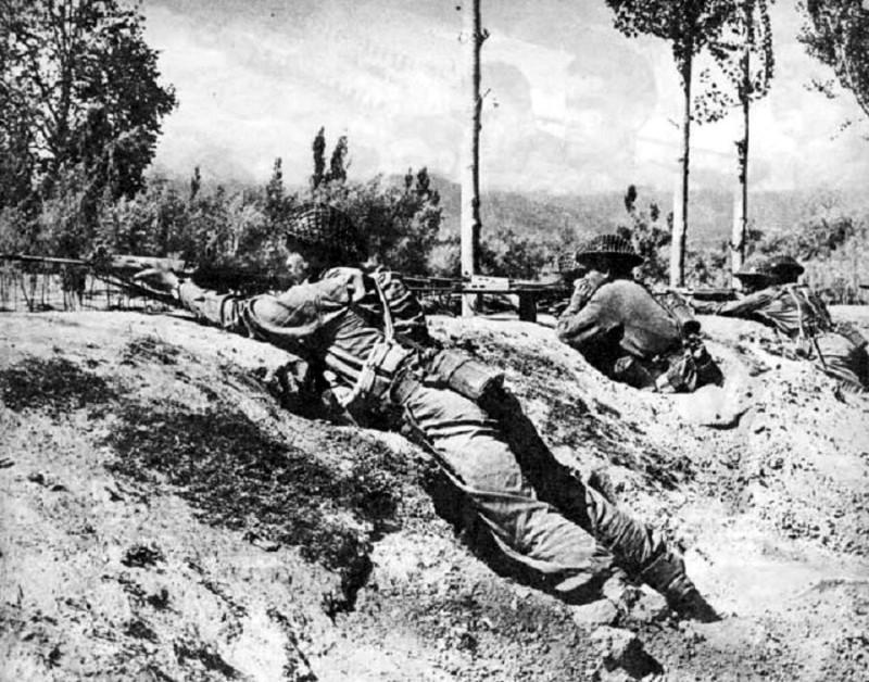 Индийские войска в Кашмире, 1948 год.