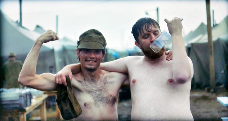 Ликвидаторы-резервисты из лагеря