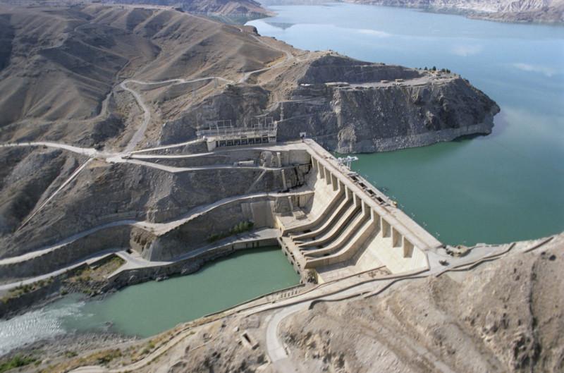 Плотина и ГЭС Наглу, построенные при техническом содействии СССР