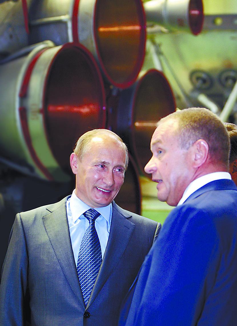 Владимир Путин и Виталий Лопота