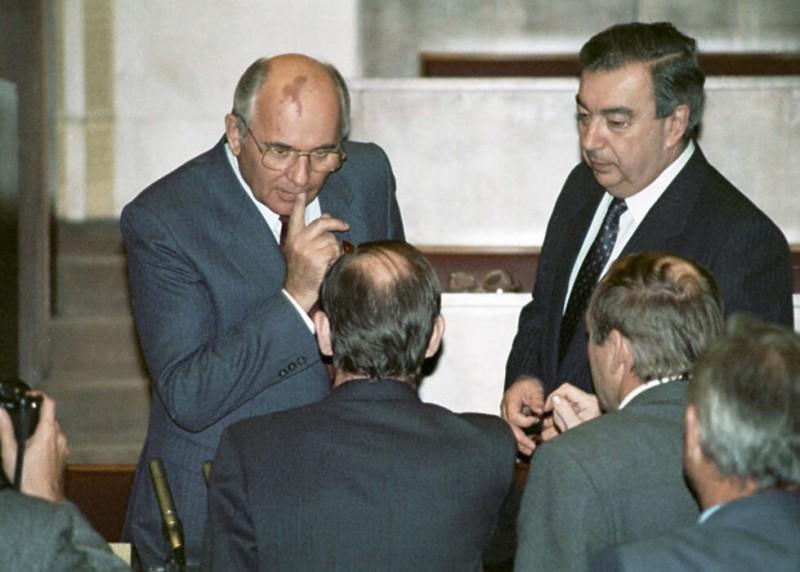 Горбачев и Примаков