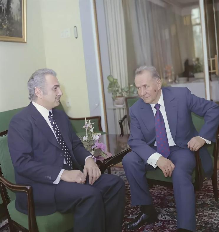 Джермен Гвишиани и А.Н. Косыгин