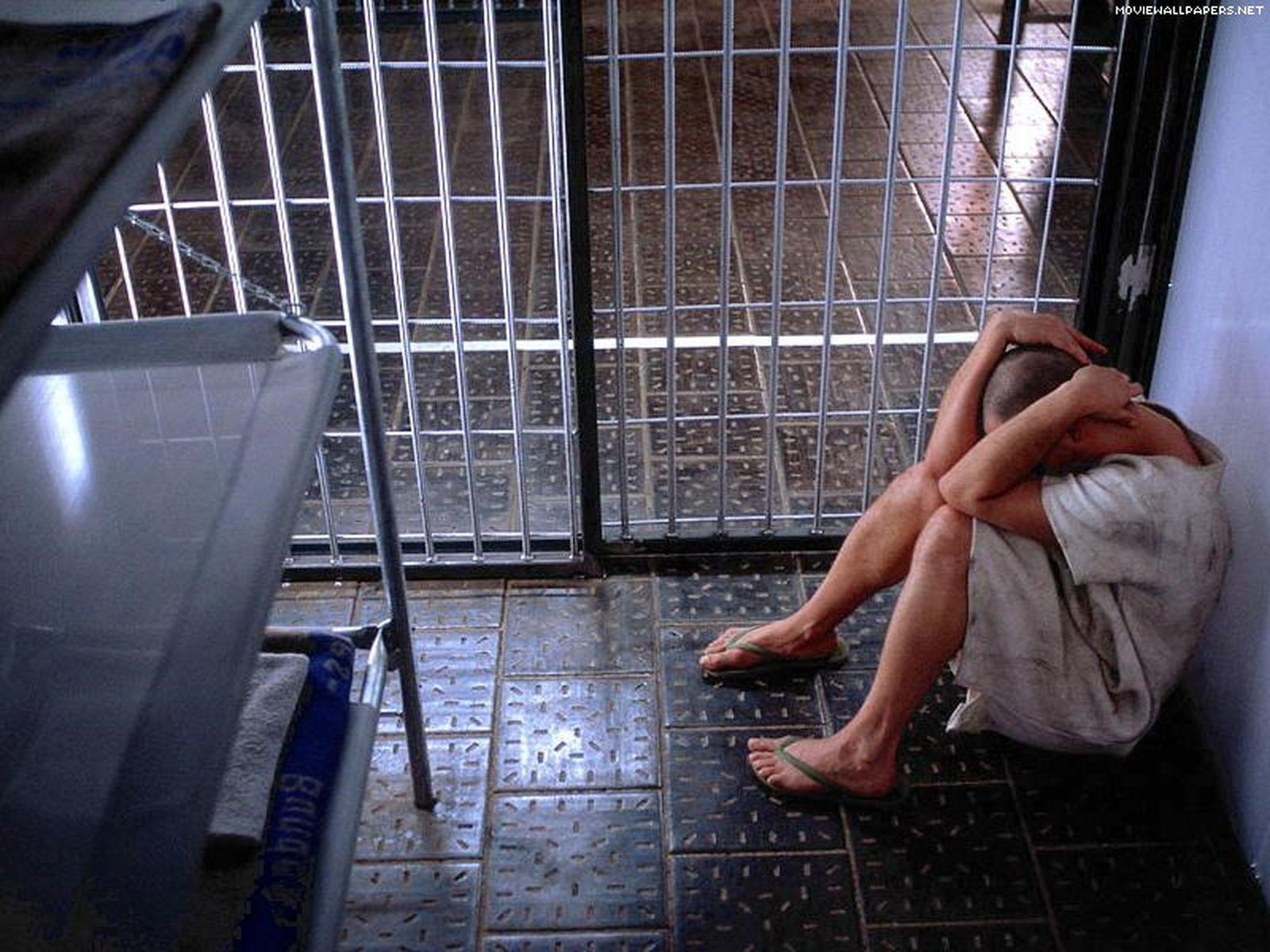 Тюремный женский душ 9 фотография