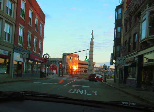 new london bank street sunrise 11 20 2014 signed