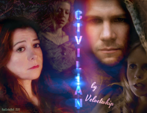 v. 3 cover art for Civilian by Velvetwhip made for her birthday Jan 14 2016 story link http://velvetwhip.livejournal.com/1625058.html DO NOT TAKE