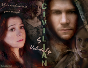 v. 2 cover art for Civilian by Velvetwhip made for her birthday Jan 14 2016 story link http://velvetwhip.livejournal.com/1625058.html DO NOT TAKE