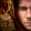 Riley Finn and Tara Maclay icon from cover art for Civilian btvs fanfiction by velvetwhip made Jan 13 2016