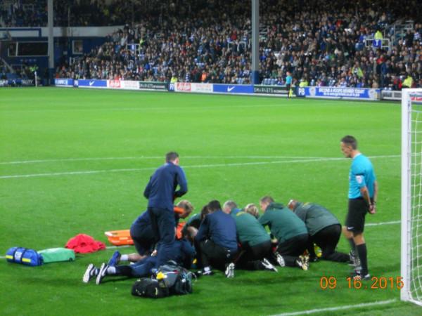 Blackburn injury
