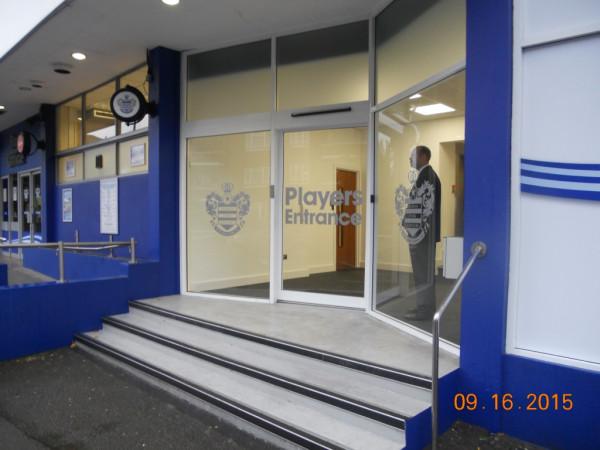 Loftus Road Players Entrance