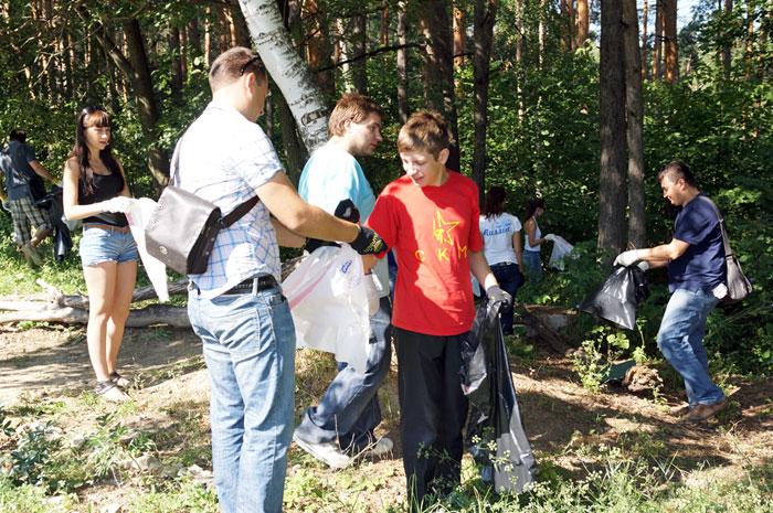 Блогер против мусора Пенза 2012 Ласточкины горы