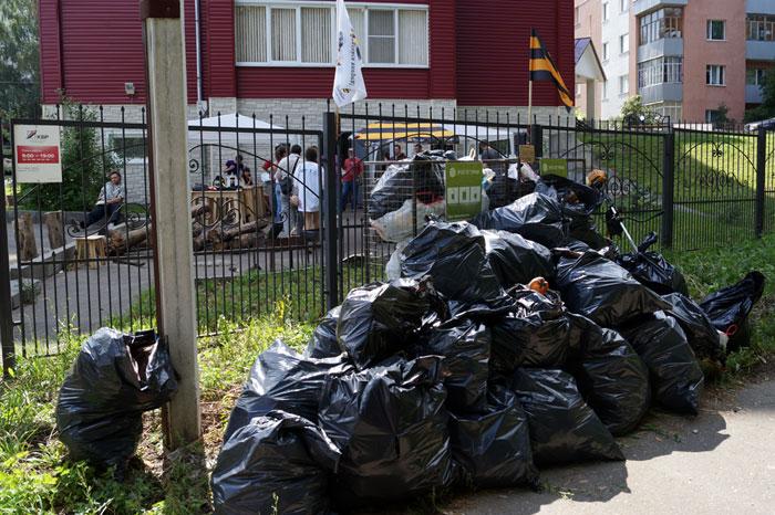 Блогер против мусора