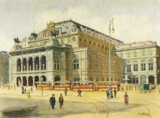 Венская опера. 1912