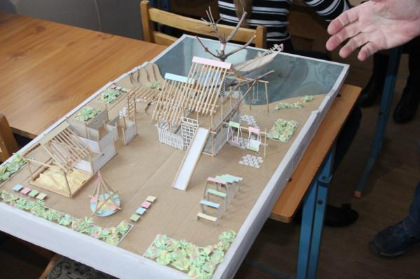 Проект детской игровой площадки, созданный учениками художественной школы...