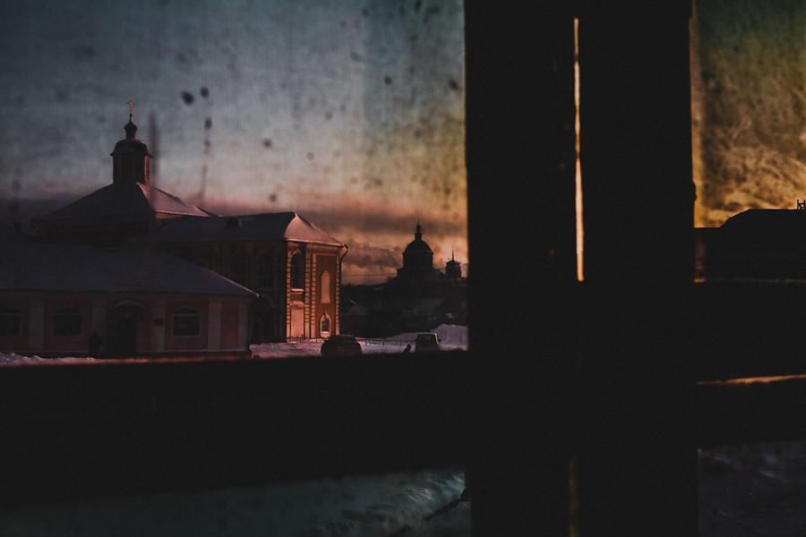 Утро в Успенском соборе