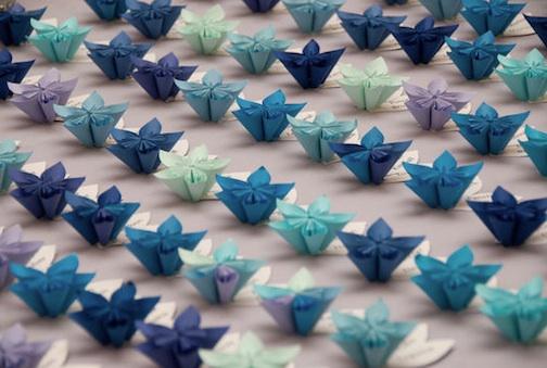 DIY Wedding Shirt and Dress Origami Escort Cards - Wedding Things ... | 339x504