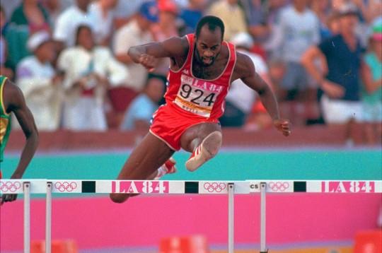 Эдвин Мозес, еще один бывший рекордсмен на этой дистанции