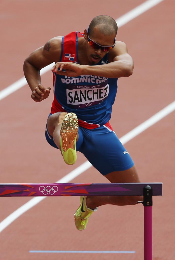 Олимпийский чемпион Феликс Санчес