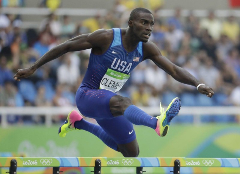 Олимпийский чемпион Керрон Клемент